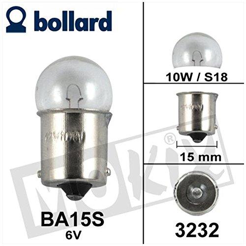 Preisvergleich Produktbild Birne / Lampe BA15S 6V 10W S18