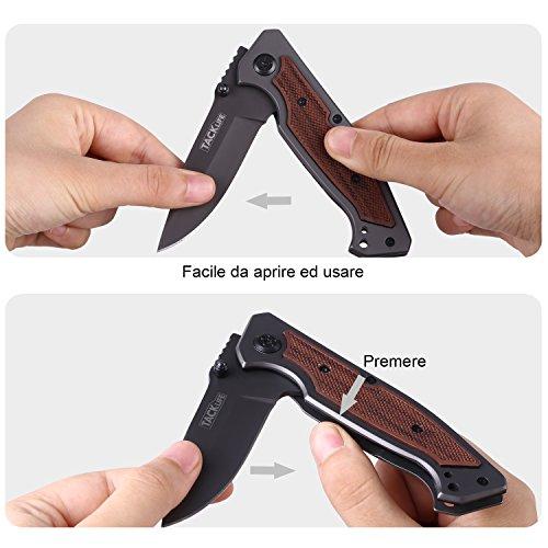 Zoom IMG-2 tacklife fk01 coltello pieghevole avanzato