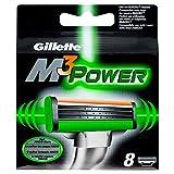10 x Gillette M3 Power Replacement Cartridges 8 Count