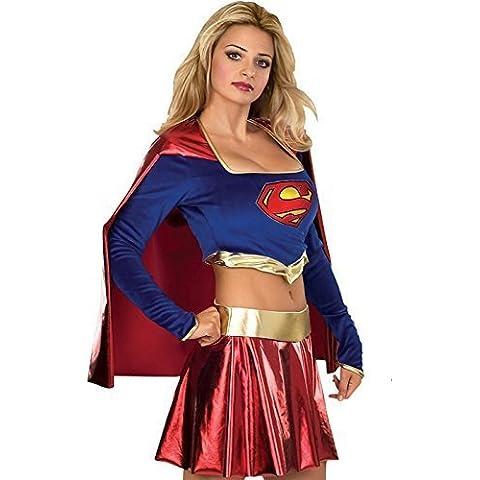 Con licenza ufficiale Deluxe da Superwoman Supergirl
