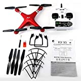 Newgreeny X52 Weitwinkel-Kamera HD Quadcopter RC 2 4 GHz WiFi Drohne FPV H