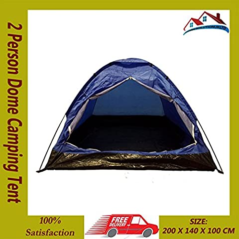 FancyPoint New 2 Person Dome Camping Tent 7'x5' Waterproof Lightweight Festival Outdoor
