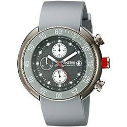Red Line-rl-50038-gm-014-gy-Zeigt Herren-Quartz Chronograph Armband Gummi grau