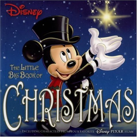 Click for larger image of Disney the Little Big Book of Christmas