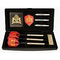 Royal Darts Dartskoffer Style inkl 6 Steeldarts und Zubeh/ör