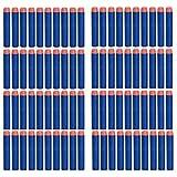 ETHAHE 100 Pcs Recarga de Dardos para Pistola de NERF N - Strike Elite Blaster (EVA) - Azul