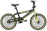 """Bicicletta Da Freestyle 20"""" Cicli Adriatica Vr46 Bmx Freestyle Gialla"""