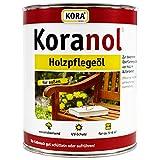 2,5L Koranol® Holzpflegeöl Pinie Aussenöl UV-Schutz Holzschutz Öl