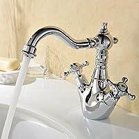 Hiendure® ottone ponte montato cucina rubinetto lavabo lavandino rubinetto del