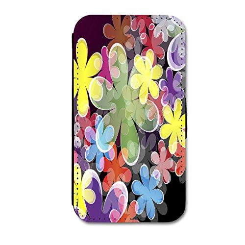 Book Style Flip Handy Tasche Case Schutz Hülle Schale Motiv Etui für Apple iPhone 5 / 5S - A52 Design5 Design 3