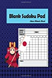 Blank Sudoku Pad: 101 Puzzle Book Game 9 x 9 Grids Large Print . Ideal for when you have made a mistake on a Sudoku puzzle and need to transfer it ... again.: Volume 2 (Samurai Sudoku Puzzles)