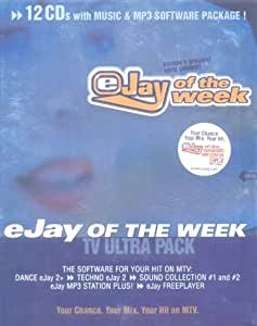 eJay of the Week MTV Music & MP3 Software 12CD Pack