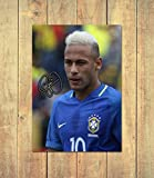 Neymar - Brazil - PSG - Paris Saint Germain 3 - High Gloss