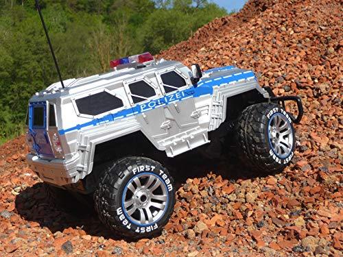 RC Auto kaufen Monstertruck Bild 5: RC Jeep SWAT POLICE mit LICHT & AKKU 1:12 Länge 39cm Ferngesteuert 27MHz*