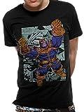 T-Shirt (Unisex-M) Thanos Comic Strip (Black) [Import anglais]