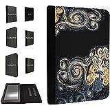 452 - doctor who tardis van gogh canvas Design Amazon Kindle Paperwhite 2014/2015 Coque Purse Wallet Pouch portefeuille Poche Coque Case Flip Cover-TPU leather