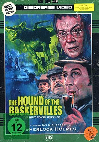 Der Hund von Baskerville - Uncut - Mediabook limitiert auf 250 Stück (Nummeriert) (+ DVD) [Blu-ray]