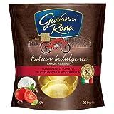 Giovanni Rana Sun Ripened Tomato Sliced Olives and Mozzarella Large Ravioli Pasta, 250g