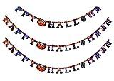 Set von 5 Halloween Papier Garland Dekorationen Halloween Banner (Letter)