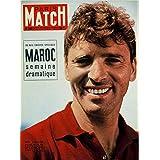 Paris match n° 330 du 30 Juillet 1955 - Burt Lancaster (Couv), le Maroc et Casablanca (10 p), Charly Gaul (4p), la conférence de Genève (4p), Ascot (4p), René Coty à Etretat (2p), le défilé du 14 juillet (4p), Greta Garbo sur la Cote d'Azur