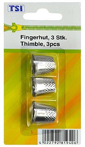 TSI Dedal, Metal, Plata, 1.7x 1.8x 1.8cm, 3Unidades