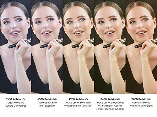 Make Up Licht : Led spiegelleuchte s g hollywood stil make up licht k
