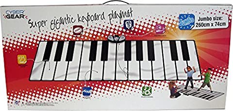 Zippy Mat Big Giant Piano Mat Music Set by Zippy Mat - Mat Piano