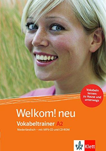 Welkom! Neu A2 Vokabeltrainer: Niederländisch für Anfänger . CD-ROM + Heft + MP3-CD (Welkom! neu...