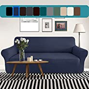 T&Q Sofa Slipcover High Stretch Couch Cover,Universal Armchair/Loveseat/Couch Sofa Cover,Washable Furnitur