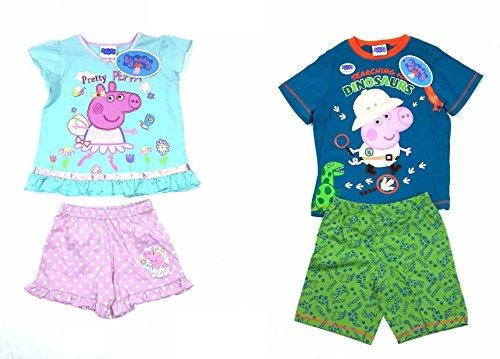 De-branded - Pijama - para niña rosa Peppa 2-3 Años