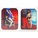 Sexy porno de Star Sweet Sophie neopreno Funda para iPad 2y 3, ambos lados Diseño # 02+ # 06