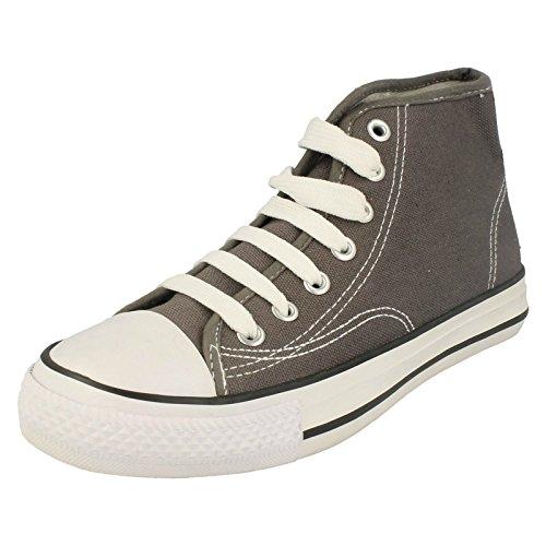 Spot sur toile pour enfant Unisexe Junior Chaussures de Baseball Gris