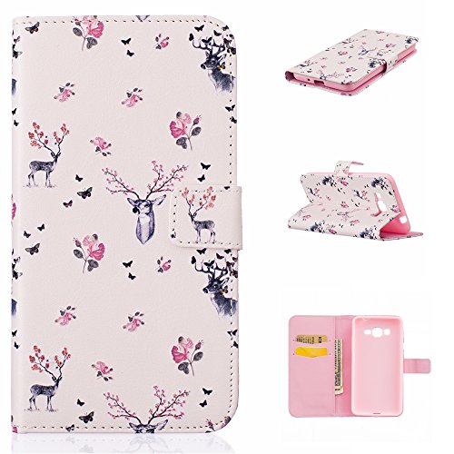 Aeeque iPhone 5/5S/5C/SE/6 plus/6S,, Samsung Galaxy S3/S4/S5/S6/S6/S6 Edge Edge J5/plus/nota 5/S7/S7/Edge G360/G530/i9060, Sony Xperia M4/Z5 mini/Z5, P8 Huawei Lite pittura, disegno elegante Custodia Giraffa