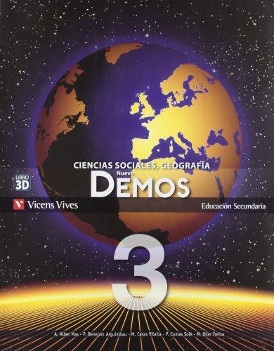 Demos. Ciencias sociales, geografia. Per le Scuole superiori: Nuevo Demos 3 (parte Comun) - 9788468202525