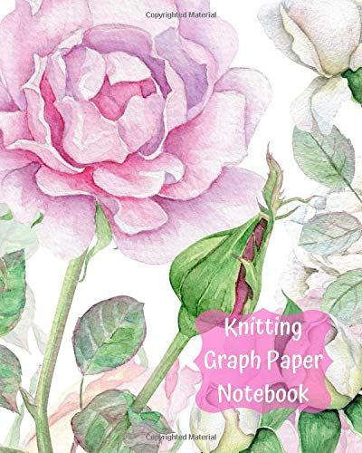 Knitting Graph Paper Notebook: Large Blank Knitters Journal with 2:3 Ratio Grid Paper 120 pages 8