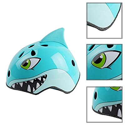 Sbarden Cartoon Kid's Cycling Helmet, Safety Helmet Cute Animals Design Cartoon Adjustable Bicycle Helmets for Kids Boys Girls Children Cycling / Skateboard / Bike / Skating / Climbing Suitable Ages 3-12Years from Sbarden