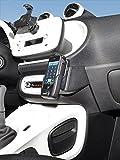 KUDA Telefonkonsole (LHD) für Smart ForTwo/ForFour ab 2014 (W453) Kunstleder schwarz