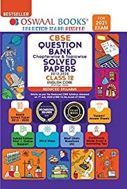 Oswaal CBSE Question Bank Class 12 English Core Chapterwise & Topicwise Solved Papers (Reduced Syllabus) (