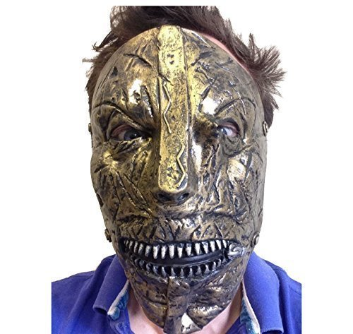 Slipknot Latex Maske Corey Taylor Heavy Metal Band Film FX Qualitätskostüm ()