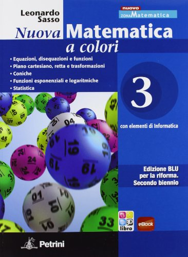 Nuova Matematica a colori. Edizione Blu. Volume 3 + eBook scaricabile