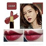 TAOtTAO 13 Couleurs au Choix Maquillage Mat Rouge à Lèvres Gloss Crayon Beauté Longue Durée, C, Height:10.3cm Width:2.3cm