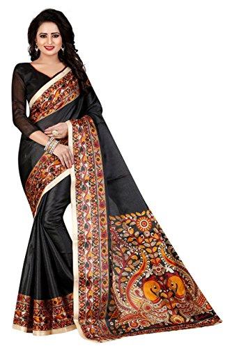 Saree(Clothsfab Saree For Women Party Wear Half Sarees Offer Designer Below 500...