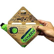 scrubba portátil modelo de ropa bolsa de lavado (2017)–para viajar, Camping, Senderismo y limpieza lavandería cualquier parte, verde