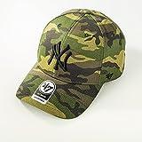 47_brand Gorra Mlb New York Yankees Mvp Curved V Struct fit verde/negro/multi talla: Ajustable