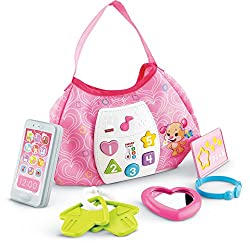 "Fisher-price Cgv28 ""Laugh & Learn Sis"" Smart Stages Purse"