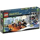 LEGO - 8968 - Jeu de construction - Agents - La poursuite sur la rivière