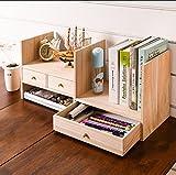 ZMSJ-YJ Einfache Bücherregal-Tischplattenregale Einfacher Moderner Schreibtisch Mehrschichtiger Studenten-Bücherschrank Bücherregal