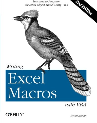 Writing Excel Macros with VBA (Classique Us)