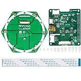 MakerHawk ReSpeaker 6-Mic Circular Array Kit (inkl. Voice Accessory HAT und 6-Mic Circular Array), basierend auf AC108 AD und AC101 DAC Chip für AI- und Voice-Anwendungen und Raspberry Pi Zero / Zero / W / 3B / 2B / B +