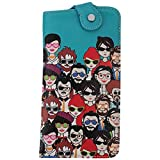 #9: Thathing Many People Teal Unisex Sunglass Cover-Case